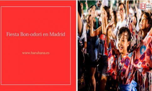 Fiesta Bon-Odori en Madrid